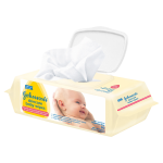 Johnson's Baby Skincare Wipes Ultra Sensitive Fragrance Free 80 pack