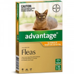 Advantage Small Cats Orange 6 pack