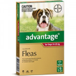 Advantage Red Dog Large 6