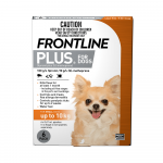 Frontline Plus Orange Dog Up To 10kg 6pk