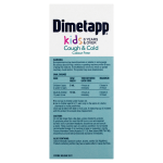 Dimetapp Cough & Cold Kids 6 Years & Over Colour Free BACK