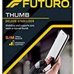 Futuro Deluxe Thumb Stabiliser Black sm
