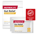 Nutra-Life Gut Relief with Prebiotics 14 Sachets front 2