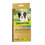 DRONTAL CHEWABLE DOG