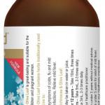 Herbs of Gold Elderberry Echinacea & Olive Leaf 200ml back