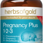 Herbs of Gold Pregnancy Plus 1-2-3 front