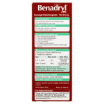 Benadryl PE Dry Cough & Nasal Congestion Non Drowsy Berry Flavour 200mL back