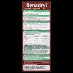 Benadryl Dry Tickly Cough Forte Liquid back