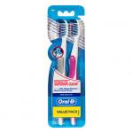 Oral-B CrossAction Pro-Health Superior Clean Medium Toothbrush 2 Pack