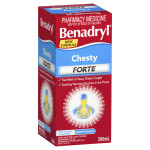 Benadryl Chesty Forte Cough Liquid Berry Flavour side
