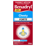 Benadryl Chesty Forte Cough Liquid Berry Flavour front