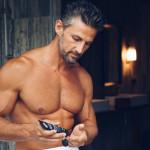 Handsome Men's SkincareAntioxidant Daily Nourishing Cream model