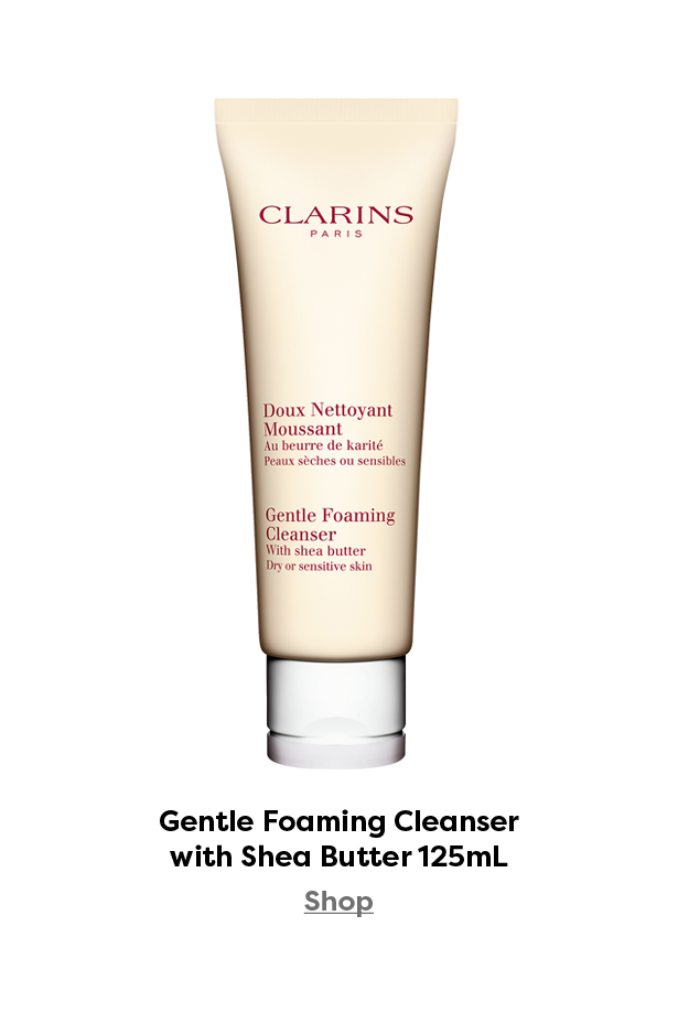 Clarins Gentle Foaming Cleanser with Shea Butter 125mL