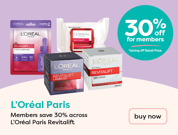 Loreal 30% off