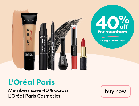 LOReal 40% off